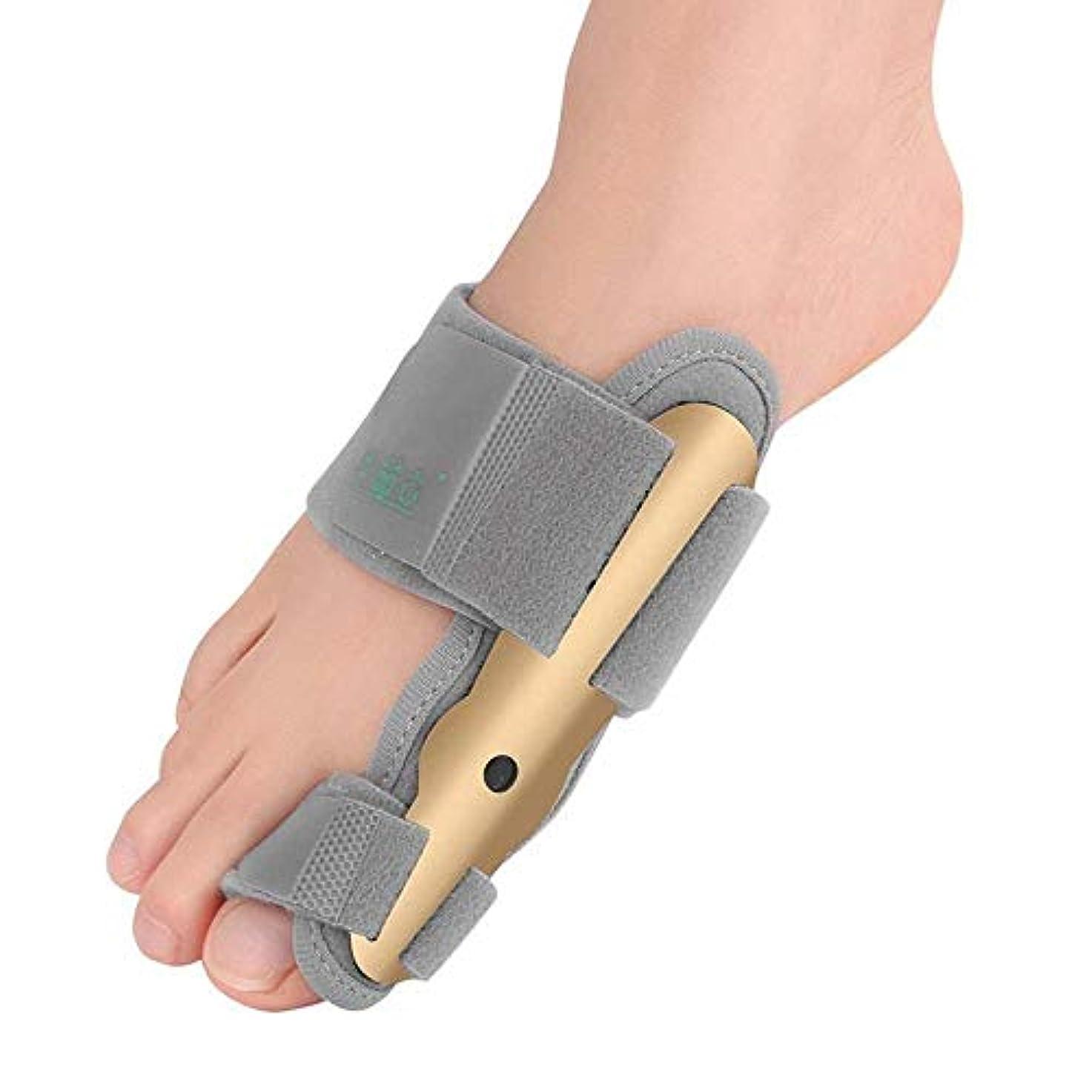 精巧な柔らかいポンドつま先のセパレーター、足の親指のアライメント矯正器のつま先の変形とサポート腱膜瘤1ピース、ユニバーサル左足と右足