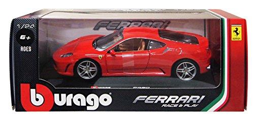 Bburago 1/24 フェラーリ F430 レッド