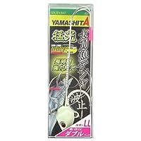 ヤマシタ(YAMASHITA) 猛光太刀魚テンヤ波止ダブル LL