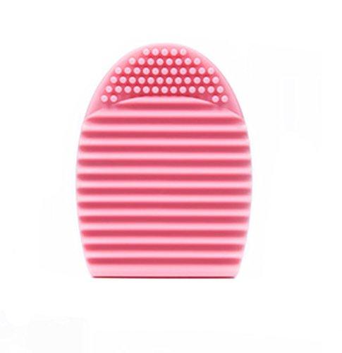 [해외]BAB-SMILE 메이크업 브러쉬 클리너 세탁 브러시 메이크업 도구 실리콘 빨래판 미니 청소 도구 메이크업 브러쉬 클리너/BAB-SMILE Cosmetic Brush Cleaner Wash Brush Makeup Tool Silicon Wash Board Mini Cleaning Tool Makeup Brush Cleaner