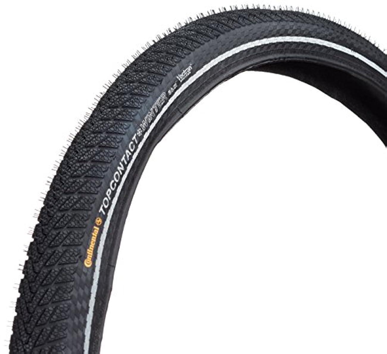 ギネス男らしさますますContinental Top CONTACT Winter II Premium - Pneu hiver - 26 Zoll, faltbar, reflex noir Dimensions du pneu 55-559 | 26 x 2.2 2015