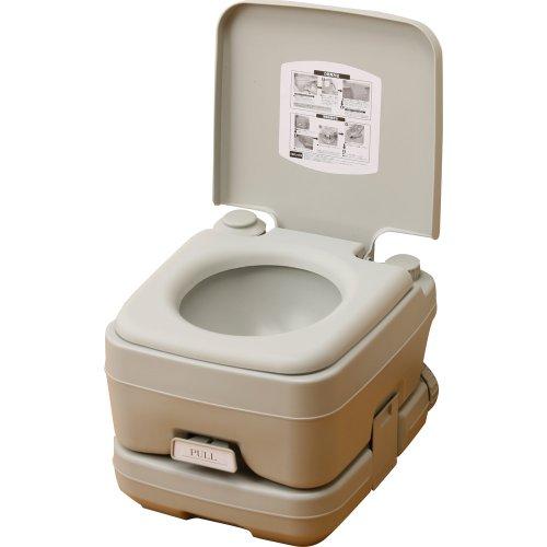 本格派ポータブル水洗トイレ 簡易トイレ (10L) YZPT...