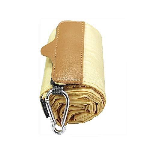 折りたたみ 防水買い物袋 L (クリーム)