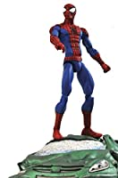 Spider-Man: Marvel Select x Diamond Select Action Figure + 1 FREE Official Marvel Trading Card Bundle