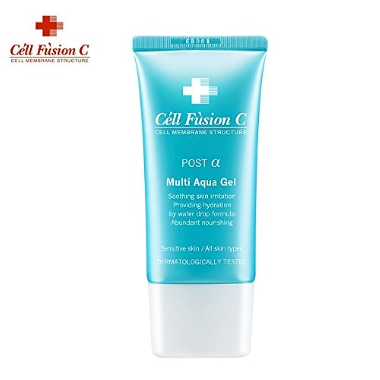 セルフュージョンCマルチアクアジェル(モイスチャーセラム)[韓国人気コスメ イージーデュー 芸能人化粧品](CELL FUSION C Multi Aqua Gel (Moisture Serum)) [並行輸入品]