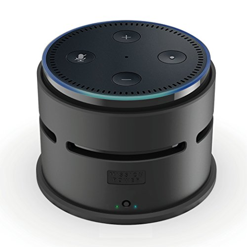 【Echo Dot New モデル 対応】Mission Accessories ポータブル バッテリー ケース