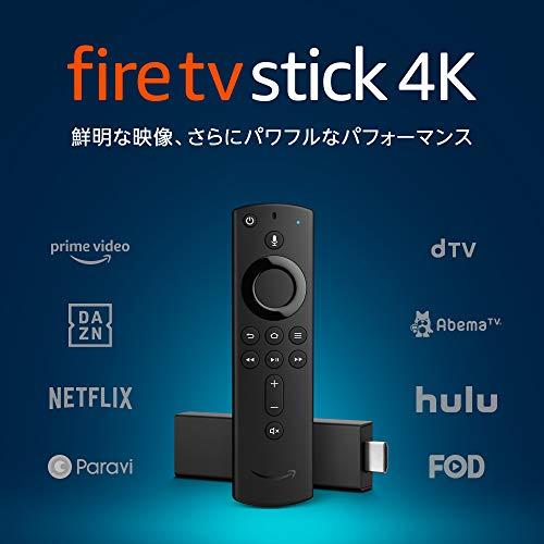 『Fire TV Stick 4K - Alexa対応音声認識リモコン付属』の1枚目の画像