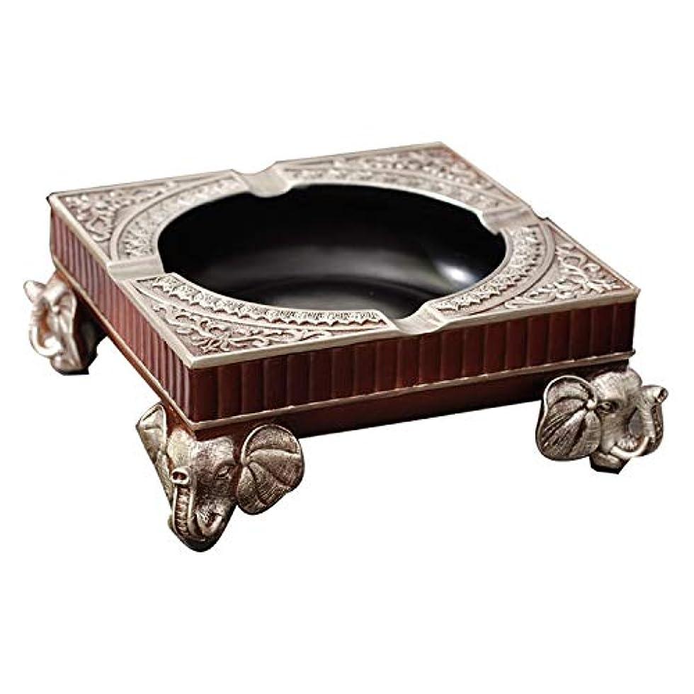 雑種驚くばかり広々中国のレトロ灰皿ヨーロッパのエレファント灰皿のリビングルームの装飾コーヒーテーブルの装飾