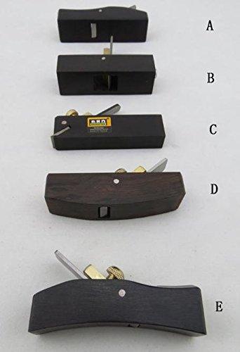 黒檀 豆鉋 レザークラフト 道具 ミニカンナ 5種類 セット