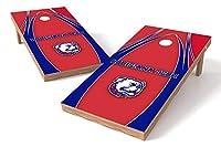 Proline NCAAカレッジ2' x 4' Louisiana Tech Bulldogs Cornholeボードセット–エッジ