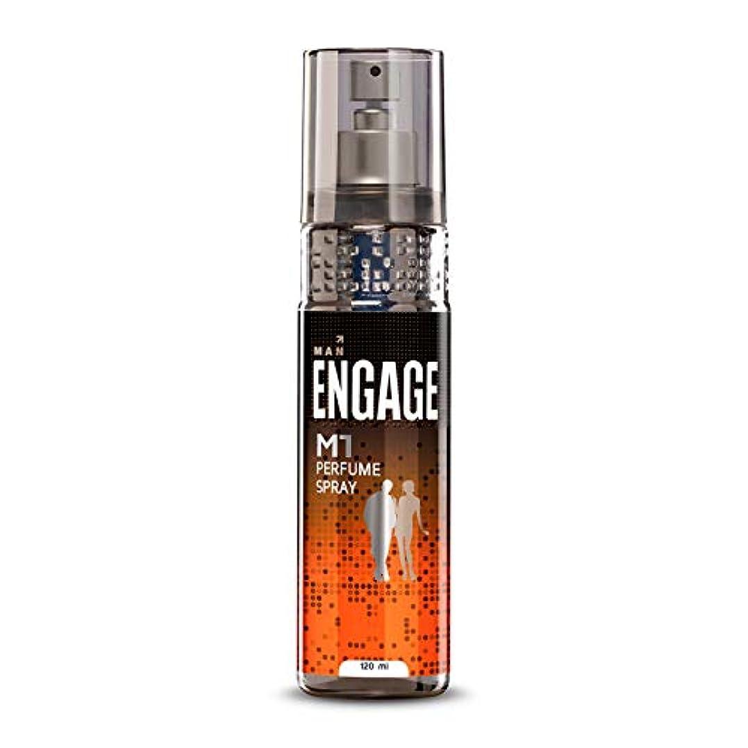 崩壊効果クルーズEngage M1 Perfume Spray For Men, 120ml