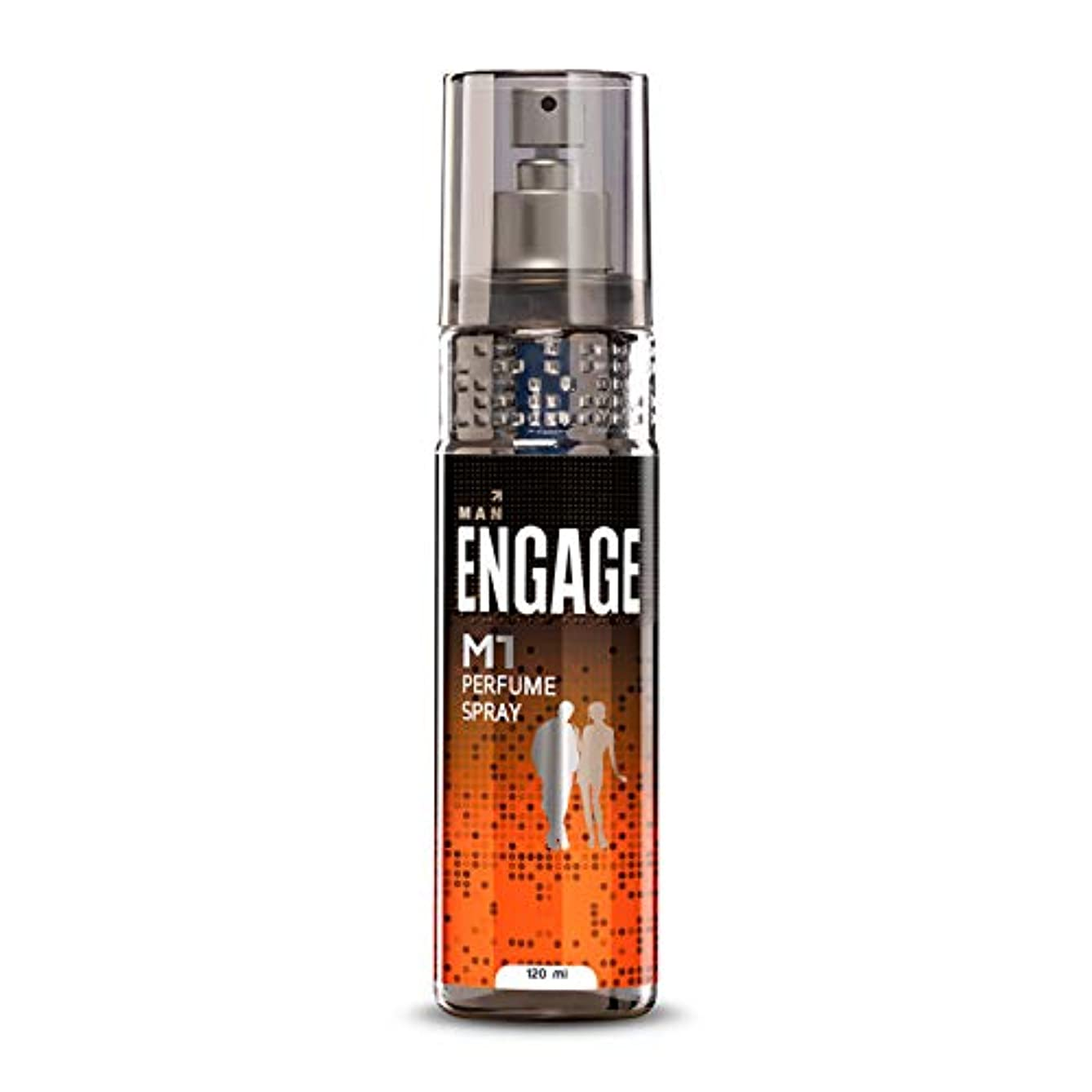 調停者シェーバー騒乱Engage M1 Perfume Spray For Men, 120ml