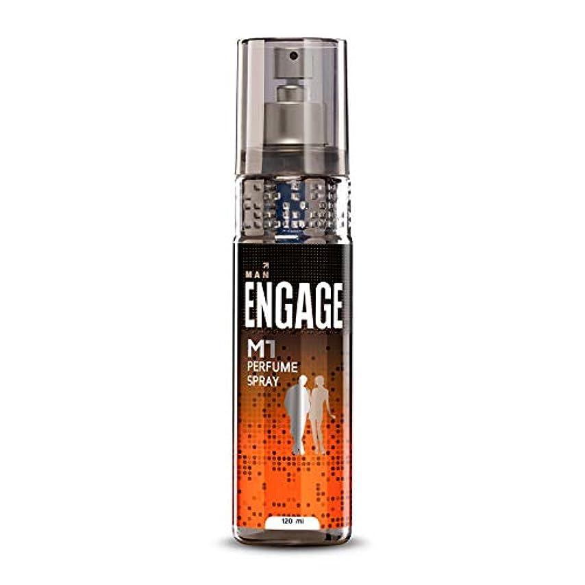 偉業悪魔電気Engage M1 Perfume Spray For Men, 120ml
