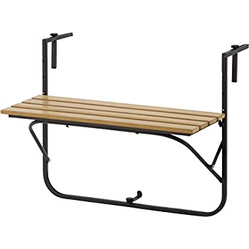 ニュートピア(Newtopia) アウトドア テーブル バルコニーテーブル 木製 NTP2159