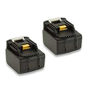 ◆1年長期保証◆2個セット マキタ MAKITA 互換バッテリー BL1440 Samsungセル搭載 【ノーブランド品】 (14.4V  4000mAh (4.0Ah))