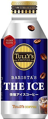 [旧品番]伊藤園 タリーズコーヒー バリスタズジアイス 微糖アイスコーヒー (ボトル缶) 390ml×24本