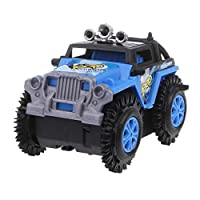 JAGETRADE Electric Mini Roll Stunt Off Road Truck Climbing Car Battery Operated Kids Gift