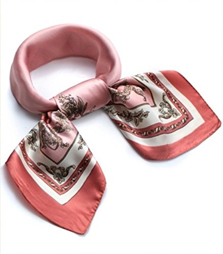 (Rosie) Rosy * [silk-style antique-style scarf] fashionable square Tsuiri bag Chou head dress belt bracelet winding arrange free trend fashionable ladies