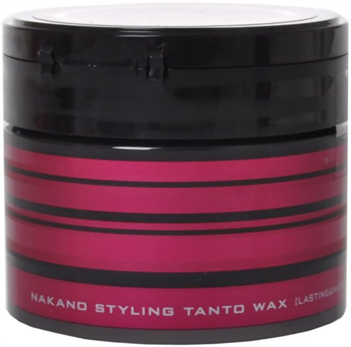 ブラジャー曲げるうねるナカノ スタイリング タント ワックス7 「ラスティング&ナチュラル」 90g