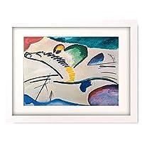 ワシリー・カンディンスキー Wassily Kandinsky Vassily Kandinsky 「Lyrisches (Reiter zu Pferd). 1911.」 額装アート作品