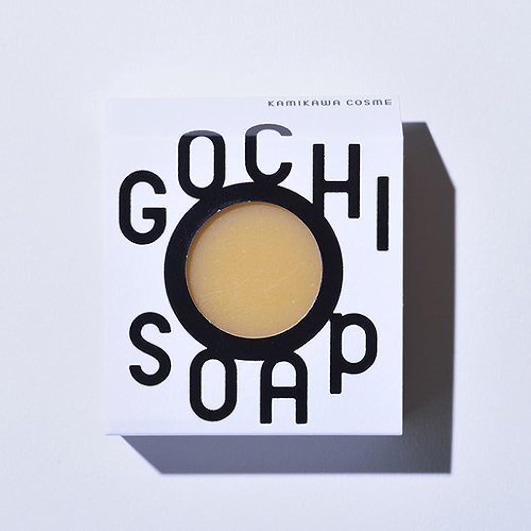 接続詞深めるキャンプGOCHI SOAP ゴチソープ 谷口農場のトマトソープ