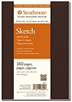 "Strathmore Softcover Sketch Journal 7.75""X9.75""-160 Pages (並行輸入品)"