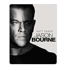 【Amazon.co.jp限定】ジェイソン・ボーン スチール・ブック仕様ブルーレイ+特典DVD [Blu-ray]