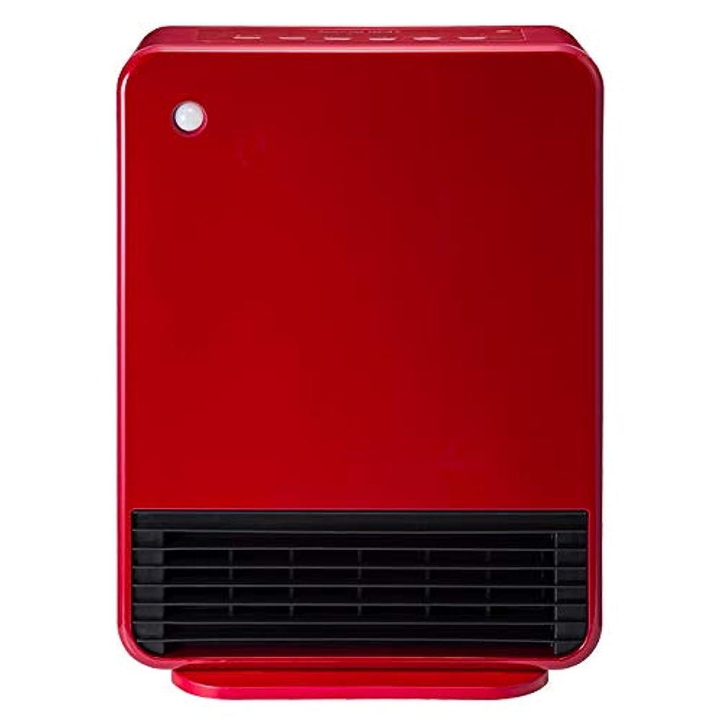 他の日含む不毛のスリーアップ 人感センサー付セラミックヒーター(クリアレッド)【暖房器具】Three-up マキシムヒート CH-T1960RD