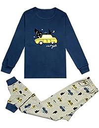 563d6b7885cb41 KISBINI子供パジャマ ルームウェア 男の子 女の子 長袖 Tシャツ 長パンツ ...