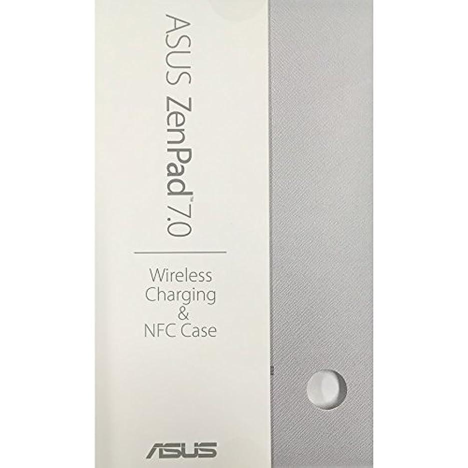 宮殿犯罪親愛なASUS ZenPad 7 ( Z370KL / M700KL 対応) ワイヤレス充電 ( Qi規格に準拠 ) NFC カバー 90NP0052-P00010