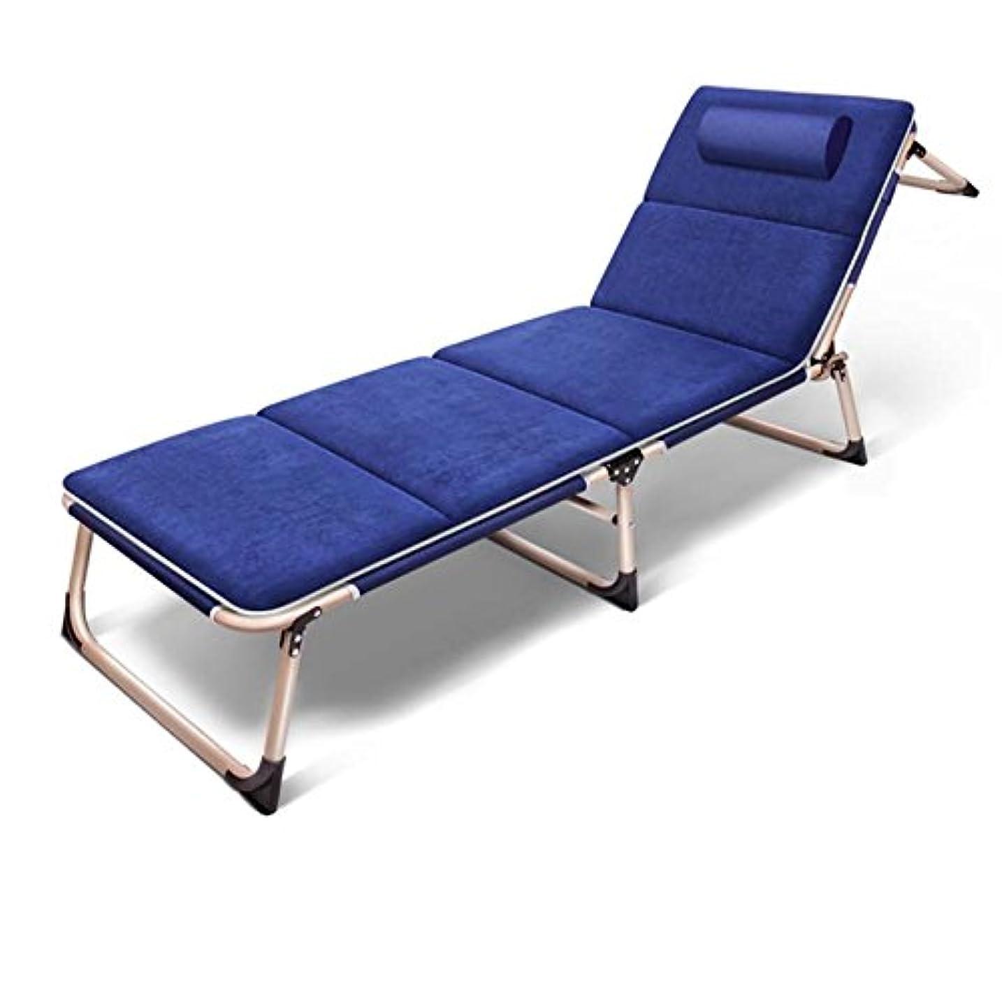 アコー視聴者ミルクBrisk- 広々とした通気性折り畳み式ベッド1つのスリーパーソファベッドビーチベッド付きのシンプルなベッドレイジーソファ(カラーオプション) (色 : #4)