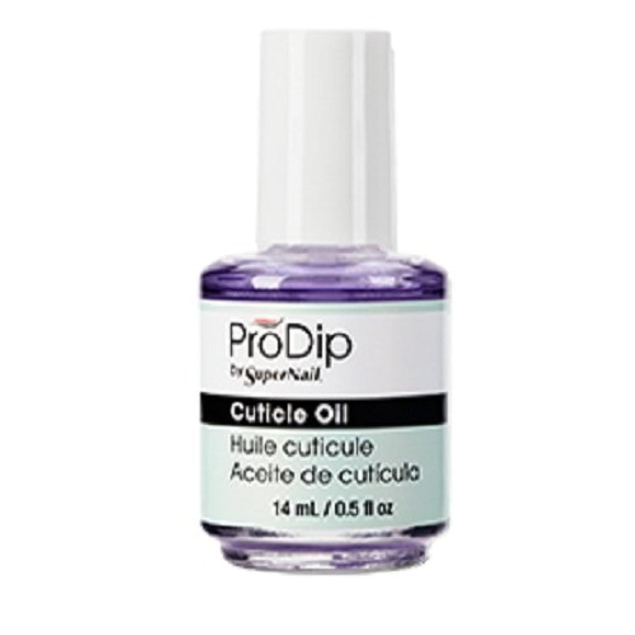 スリッパやけど有彩色のSuperNail ProDip - Cuticle Oil - 14 ml/0.5 oz