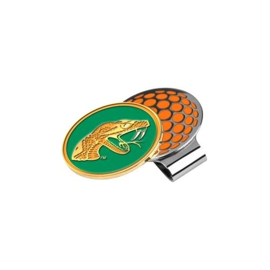 悪魔北方ワインFlorida A & M Rattlers Golf Hat Clip & Ball Marker
