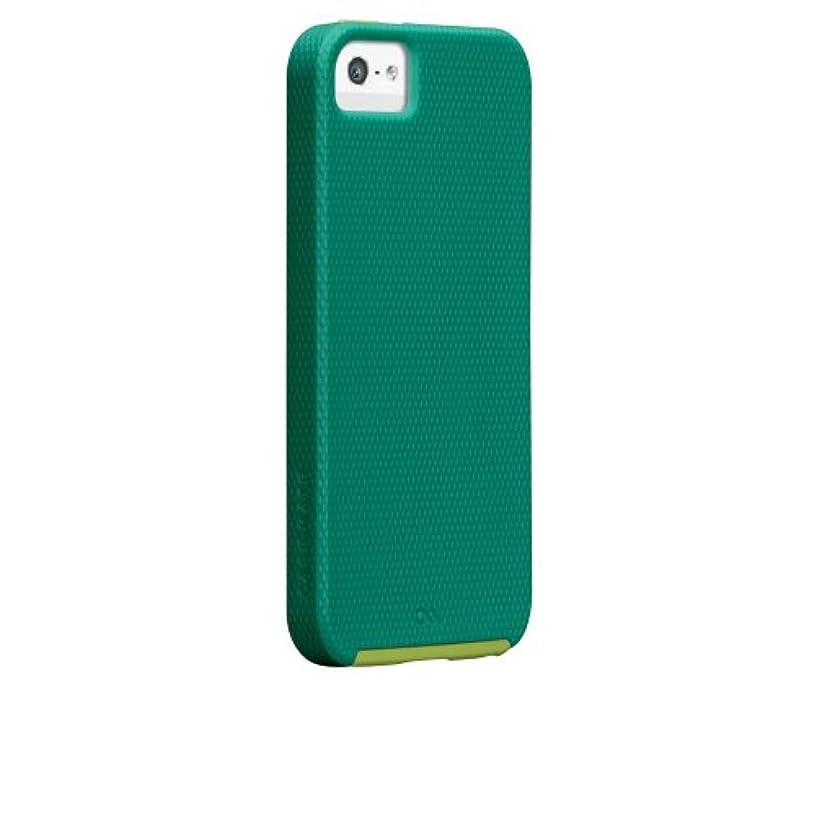会議不満時Case-Mate 日本正規品 iPhoneSE / 5s / 5 Hybrid Tough Case, Emerald Green / Chartreuse Green ハイブリッド タフ ケース CM022476