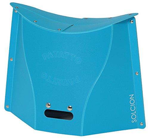 SOLCION 折りたたみ椅子 PATATTO 300 (パタット 300) 高さ30cm ブルー