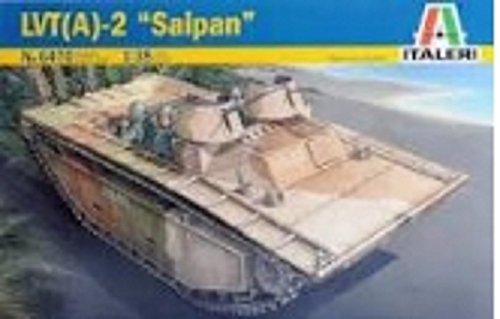 イタレリ 6470 1/35 ミリタリーシリーズ 1/35 LVT(A)-2 サイパン