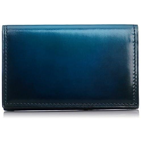 [ユハク] YUHAKU ベラトゥーラ名刺入れ YVE160 BLU (ブルー)