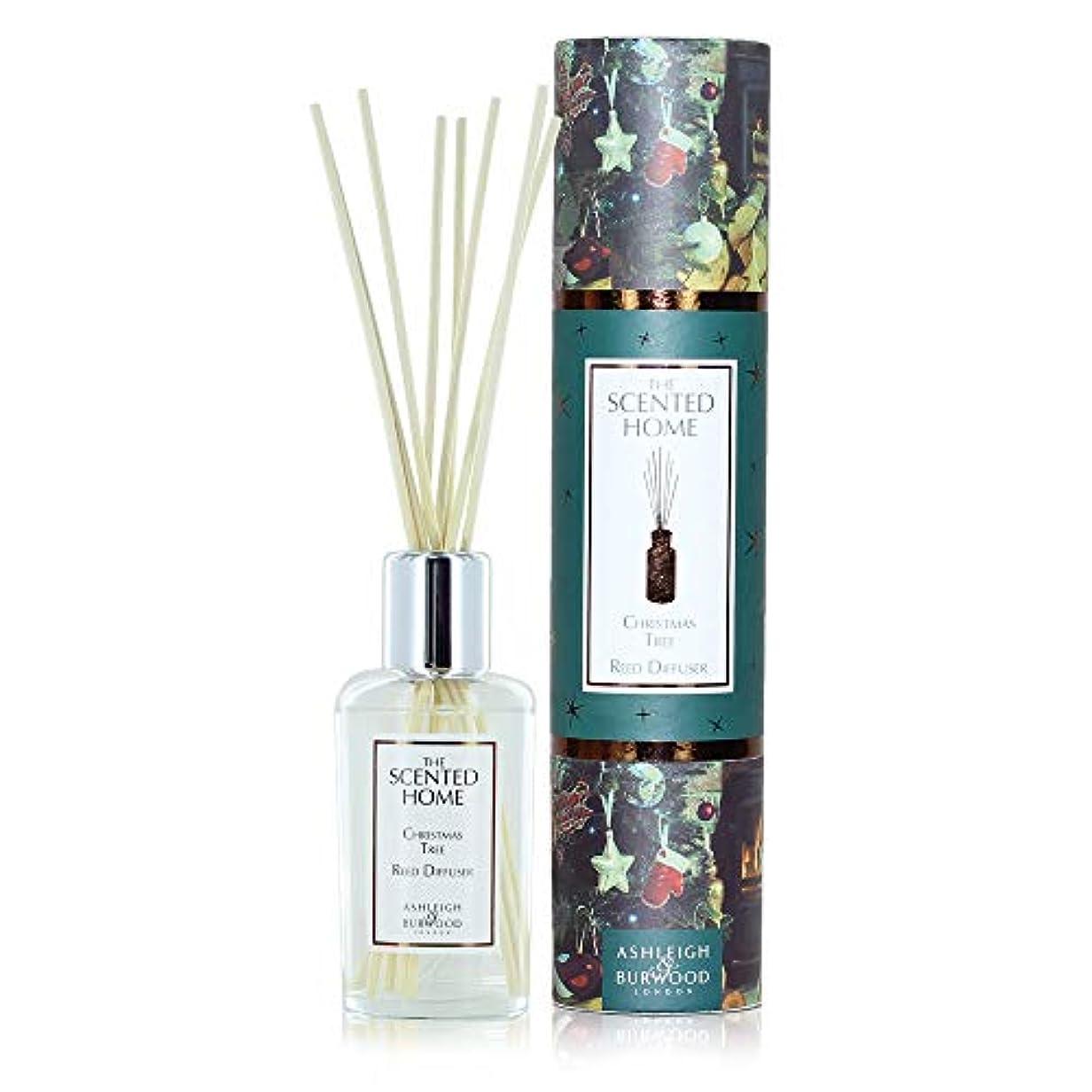 獣鎮痛剤空気Ashleigh&Burwood リードディフューザー 200ml クリスマスツリー Christmas Tree Reed Diffuser アシュレイ&バーウッド