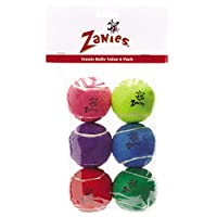 Zanies 2.5 Tennis Balls for Dogs, 6-Packs by Zanies