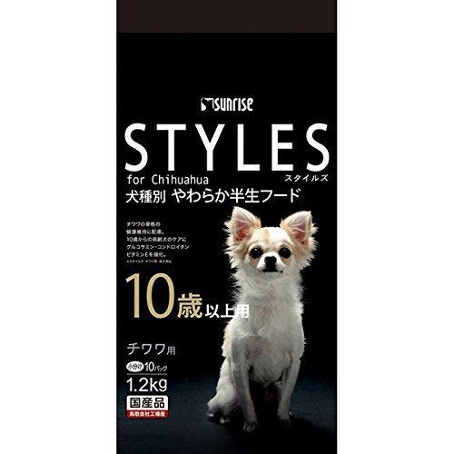 スタイルズ チワワ用 10歳以上用 120g 10パック  スタイルズ STYLES