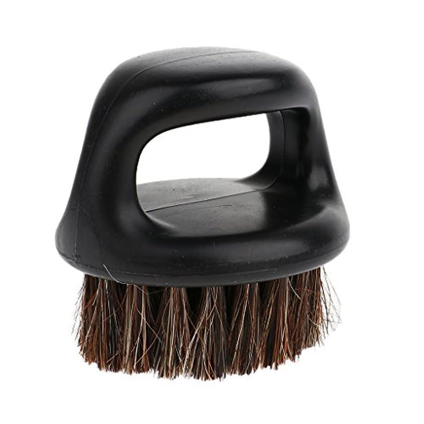 真空として基準dailymall 男性用デイリーシェービング用ハンドル付き口ひげモデリングツール付きポータブル男性用ひげ剃りブラシ