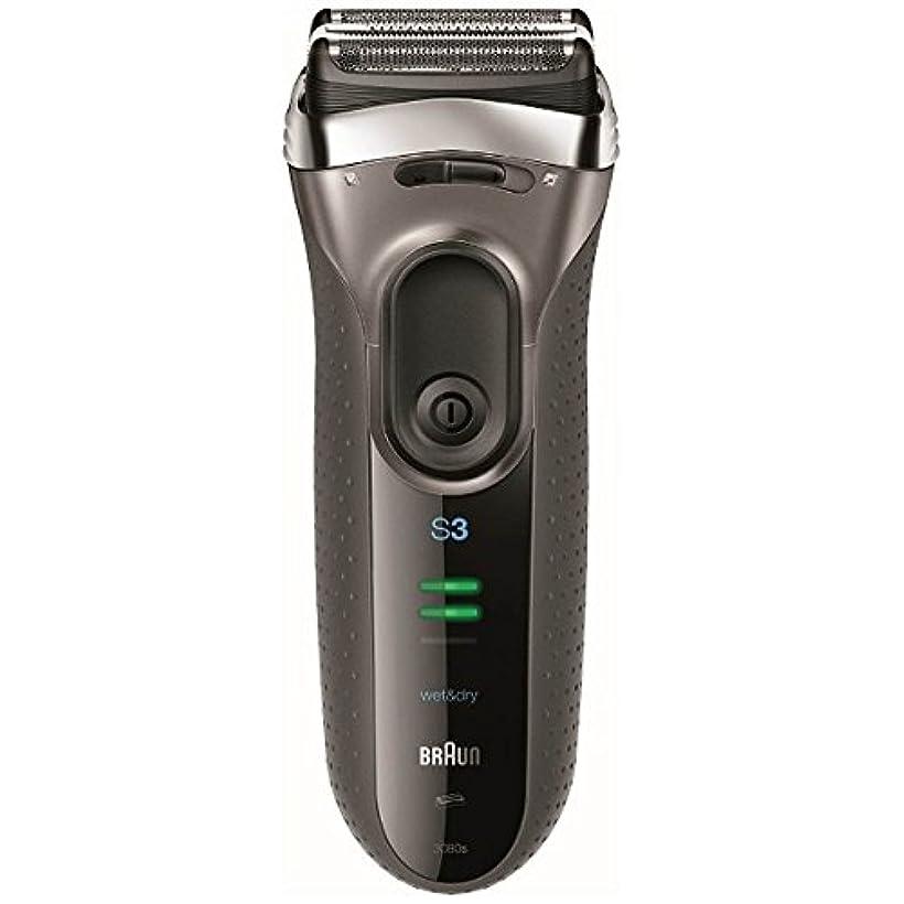 ブラウン メンズシェーバー シリーズ3 3080s-S-P 3枚刃 お風呂剃り可 シルバー