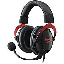 HyperX Cloud II Gaming Headset with 7.1 Surround Sound (Certified Refurbished) Red