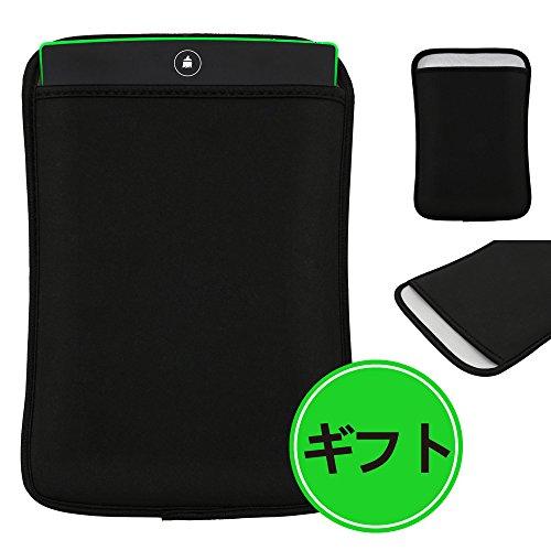BORUI 電子メモパッド 電子メモ帳 デジタルペーパー 付属品:保護カバー (緑色)
