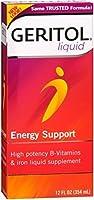Geritol Liquid Energy Support B-Vitamins 12 oz (Pack of 2)