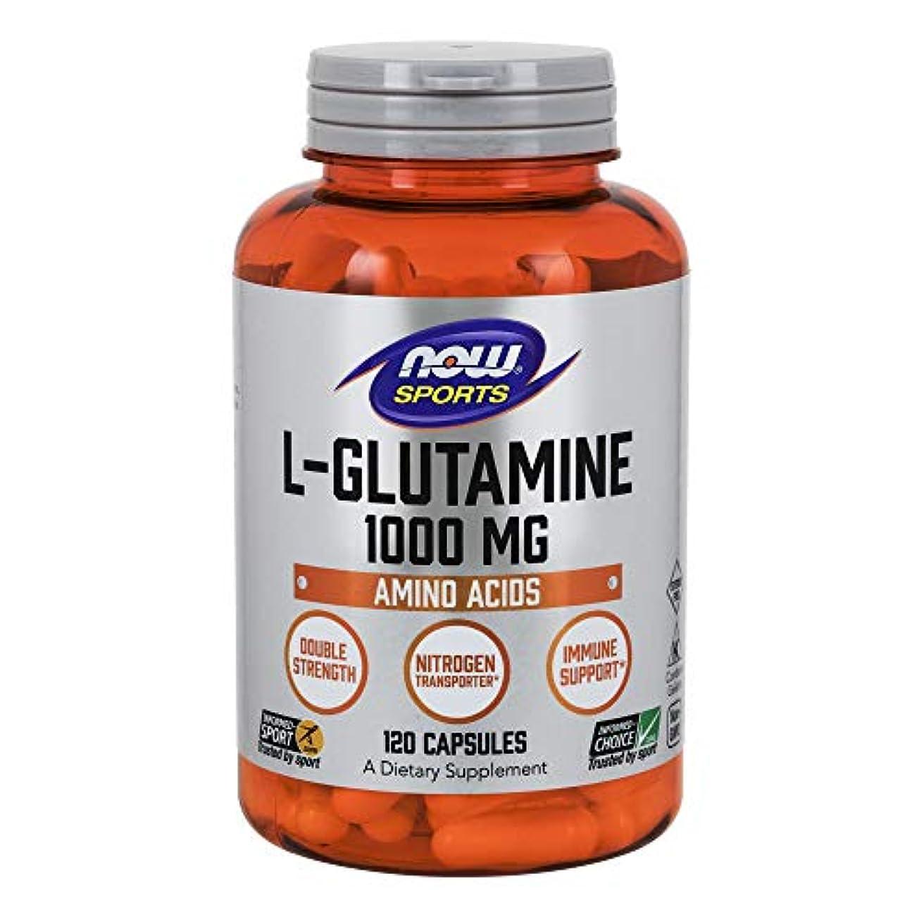 シャンプー南西パニック[海外直送品] ナウフーズ  - Lグルタミンの二重強さ 1000 mg。120カプセル