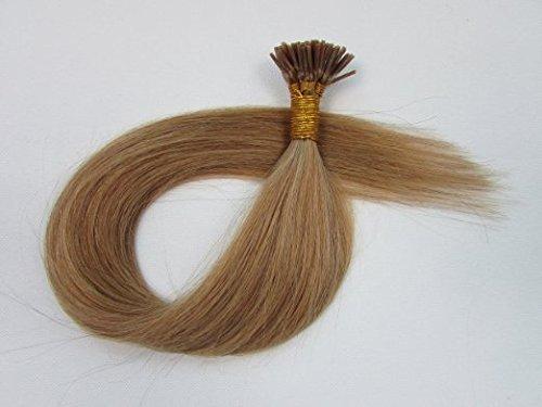 Remeehi 最高級レミーエクステ 人毛 簡単装着 チップ式 100%のレミーエクステ人間の毛髪 エクステンション 簡単装着 エクステ 人毛 100本セット 50g (1本あたり0.5g)46cm #12 Light Brown