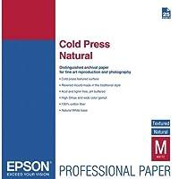 PAPER, EPSON, COLD PRESS NATURAL