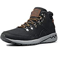 Men's Work Boots Construction Shoes Leather Outdoor Shoes