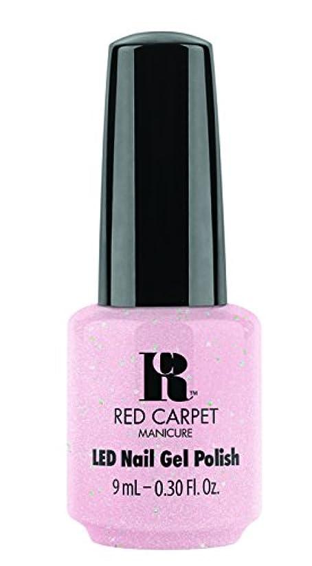 表向き受け継ぐ薄いRed Carpet Manicure Gel Polish, Tinsel Town, 0.3 Fluid Ounce by Red Carpet